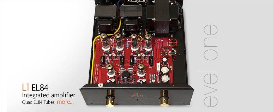 Audio Note L1 EL84 Integrated Amplifier
