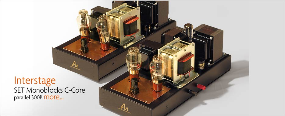 Audio Note Interstage MonoBlocks 300B Amplifiers