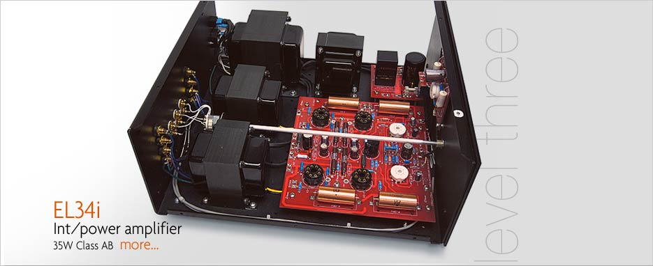 Audio Note L4 EL34 Integrated or Power Amplifier