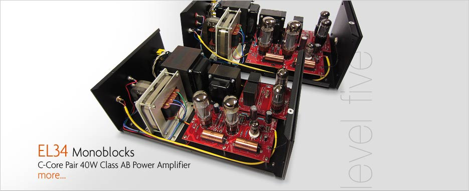 Audio Note L5 EL34 MonoBlock Amplifiers