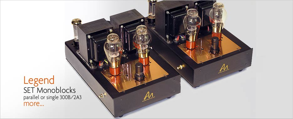 Audio Note Legend 300B MonoBlock Amplifiers